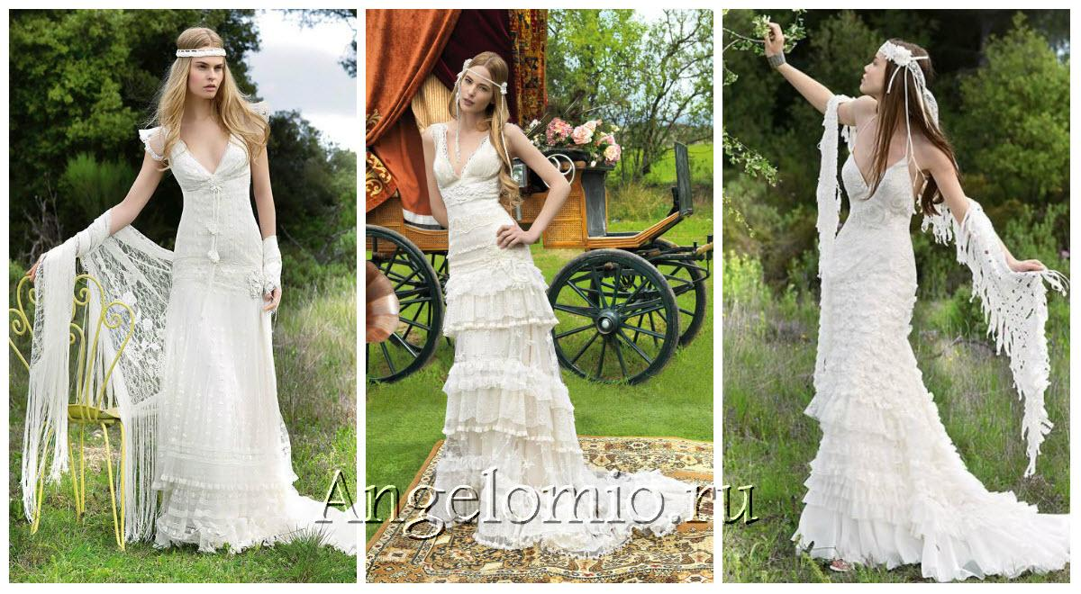 Как сшить платье в свадебном стиле 735
